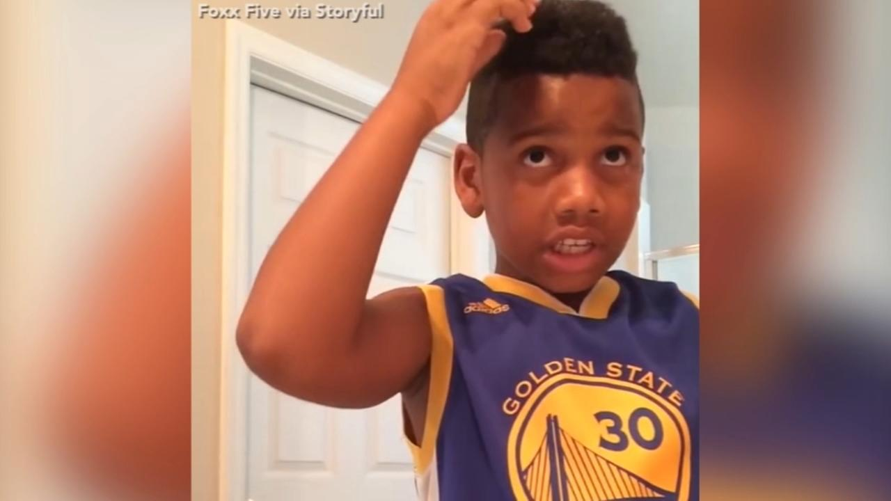 Budding barber reminds us why its not a good idea to cut our own hair