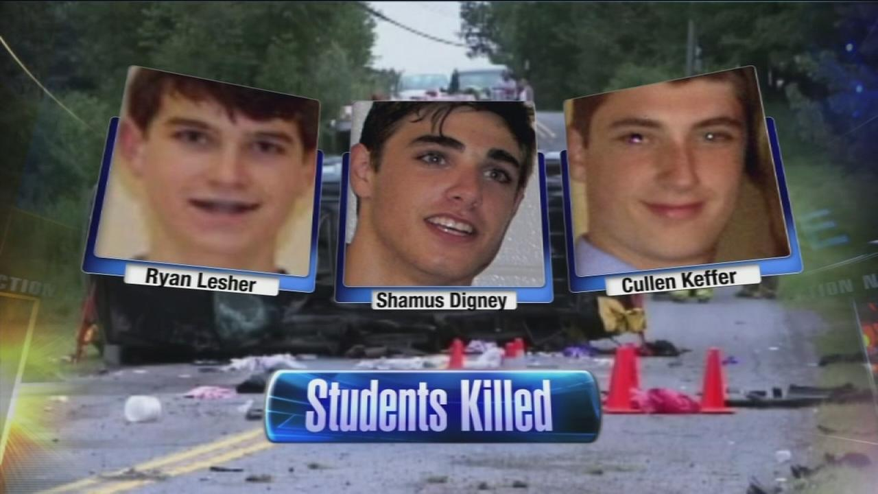 VIDEO: Council Rock students killed in Poconos crash