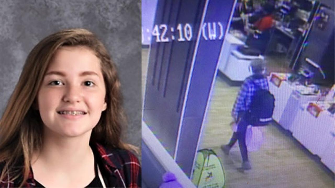 Police say Sarah Maness was seen on surveillance video at the McDonalds on the 300 block of East Main Street around 8:45 a.m. Monday.