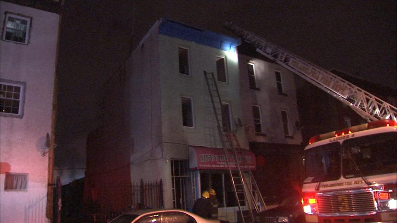 Garage fire forces family to evacuate apartment
