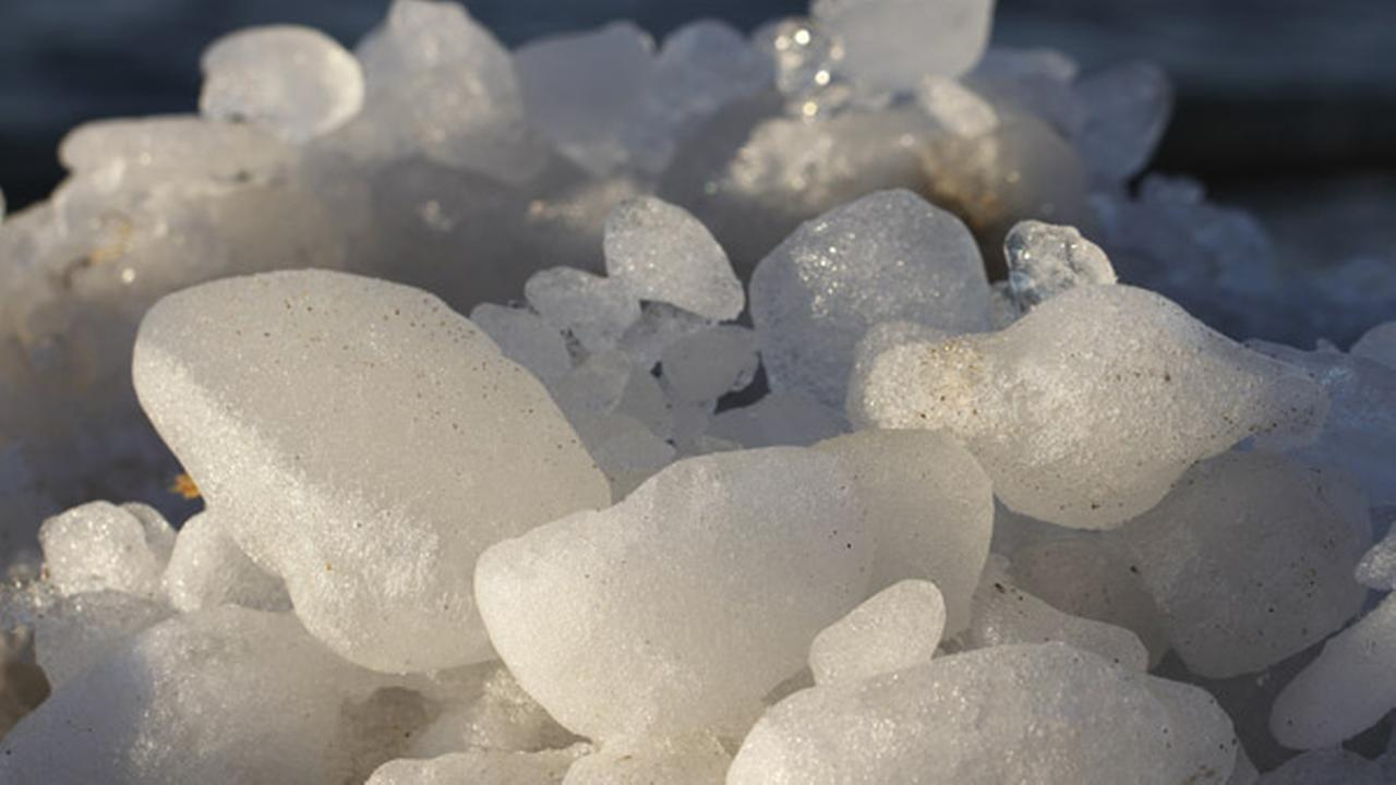 Pa. man pinned by huge ice chunk after hitting it with shovel