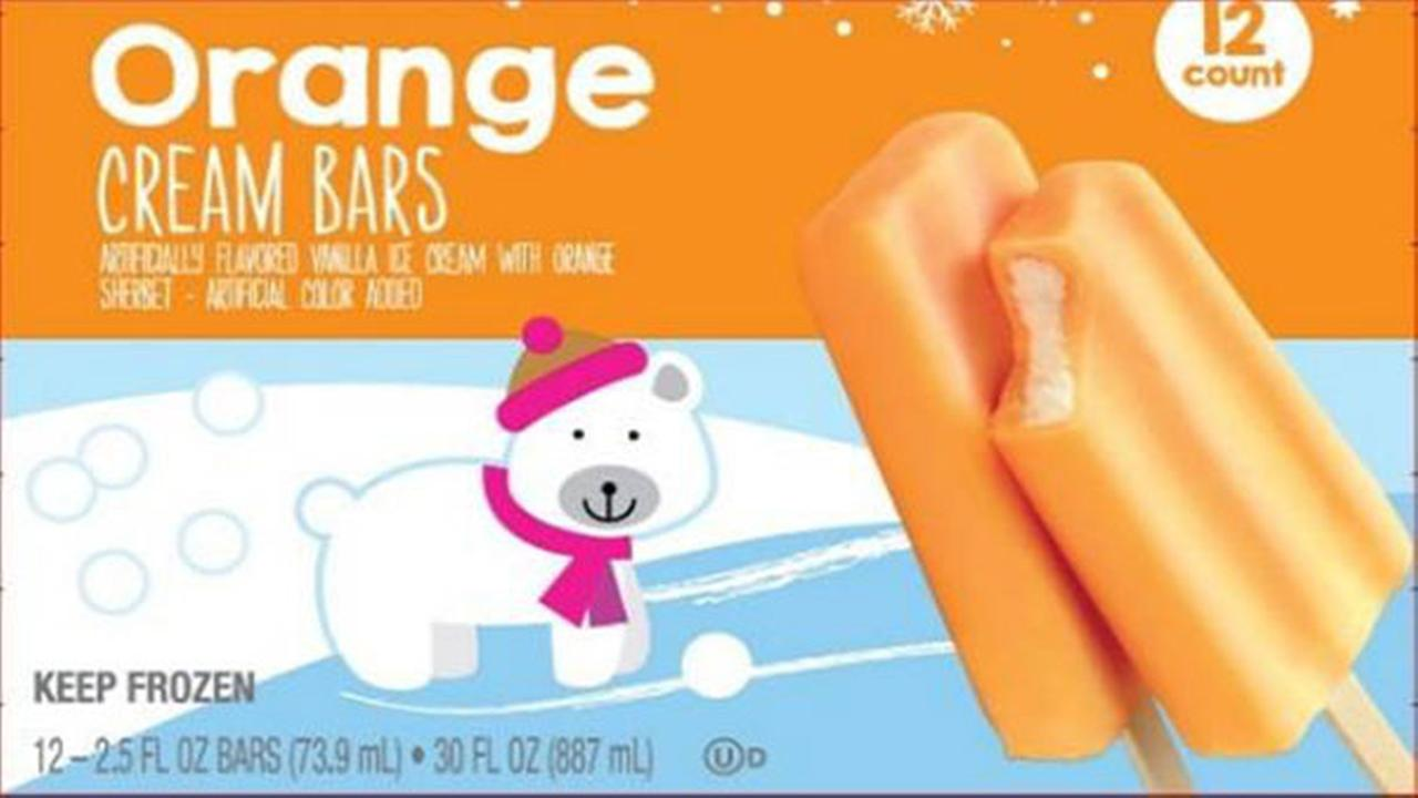 Several store brand ice cream bars recalled for possible listeria