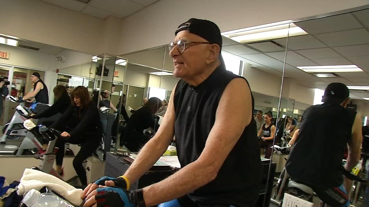 Art of Aging: Senior motivator gets folks moving in spin class
