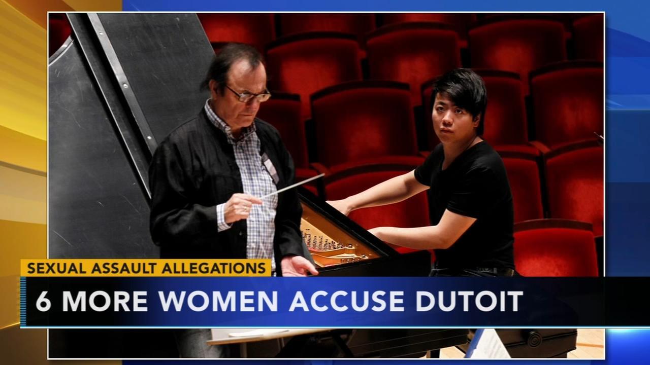 Six more women accuse Dutoit