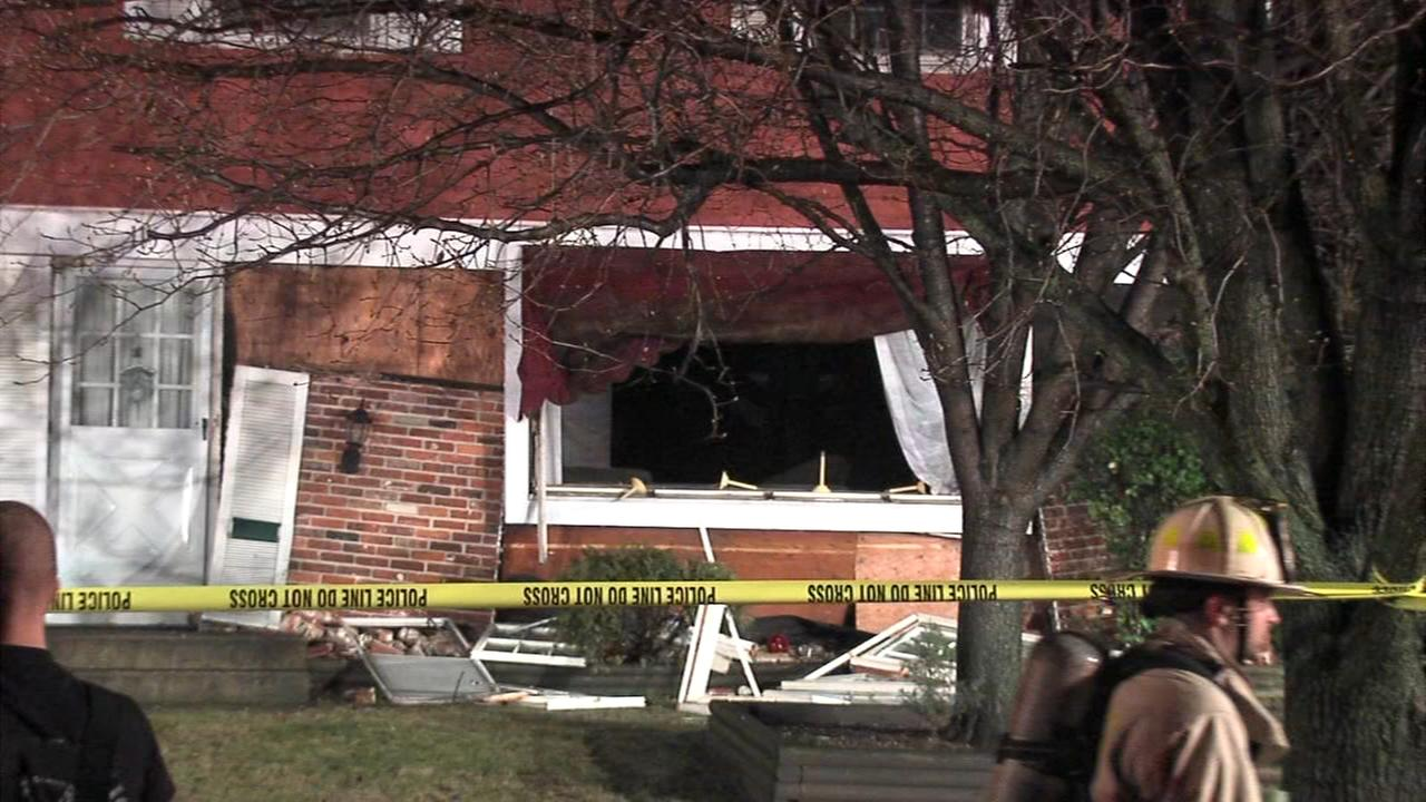 Explosion forces man from Delran home