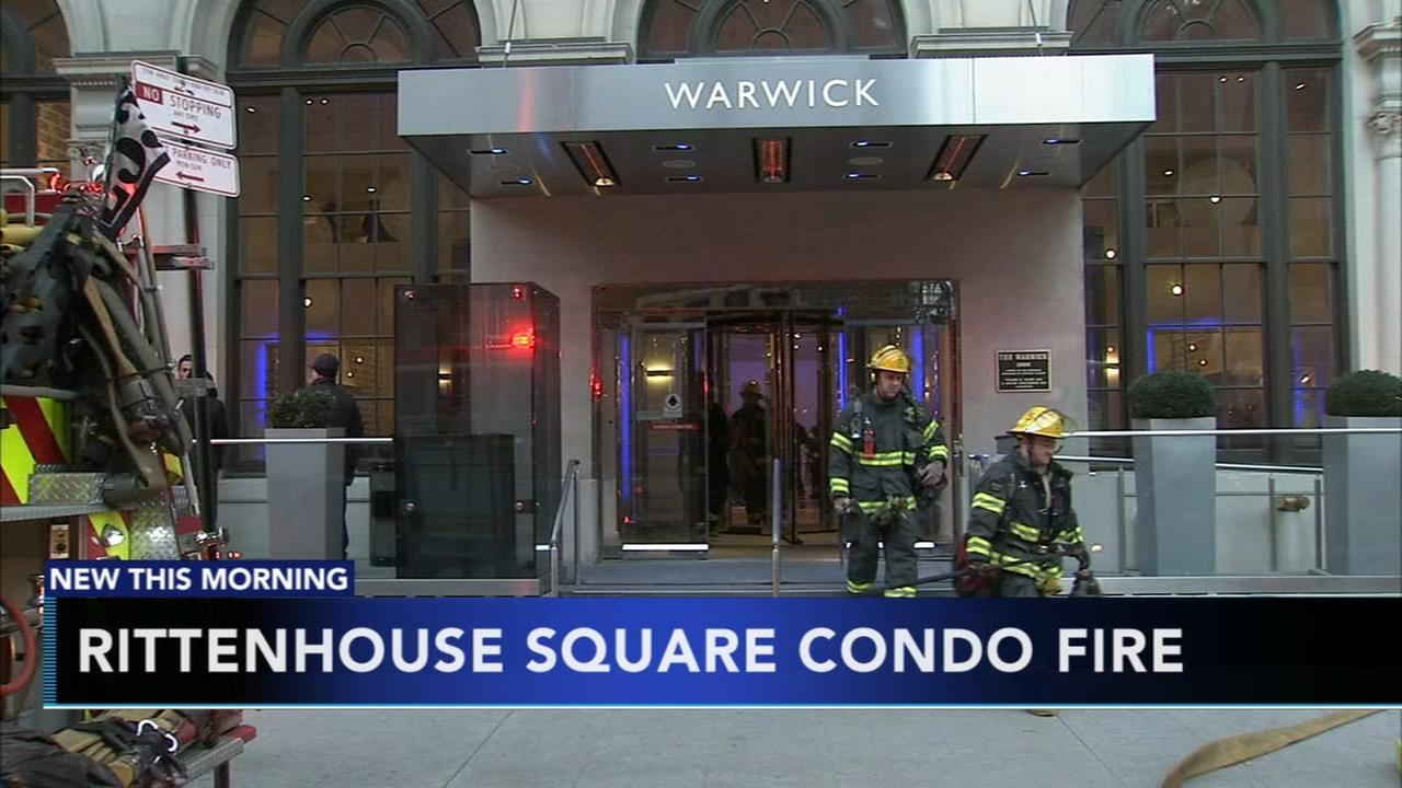 Fire at Rittenhouse Square condo