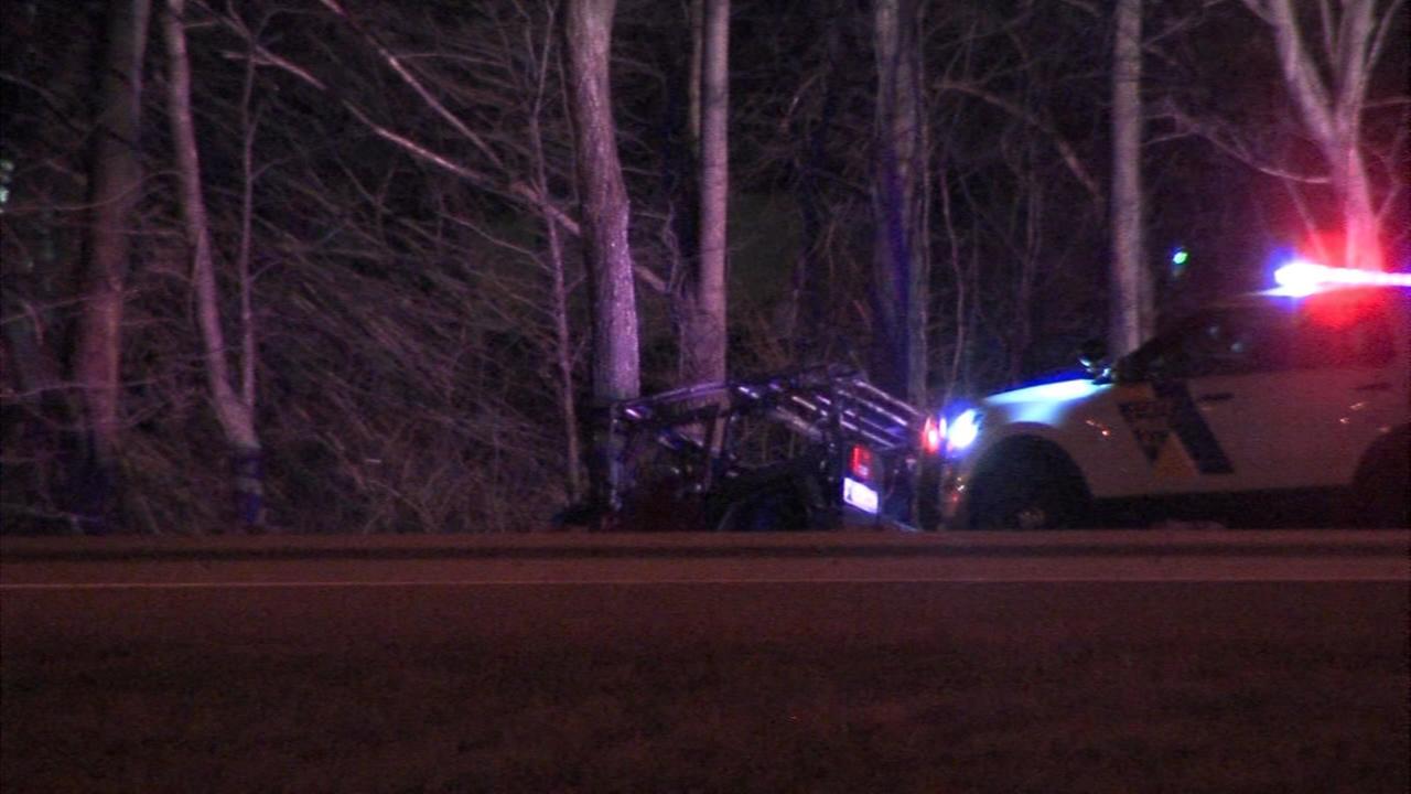 Crash in Mt. Laurel, New Jersey