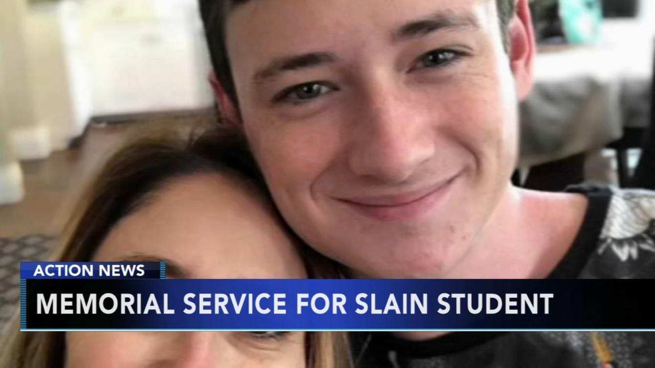 Memorial service for UPenn student