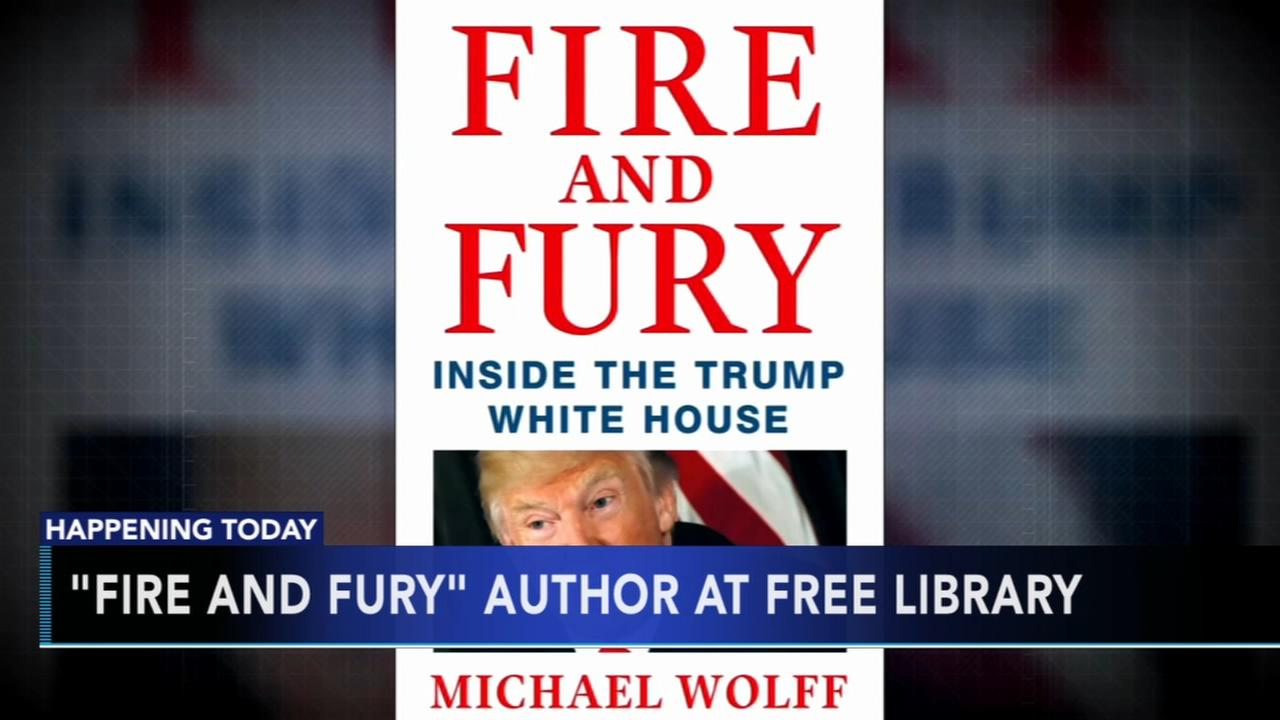 Fire and Fury author at Free Library