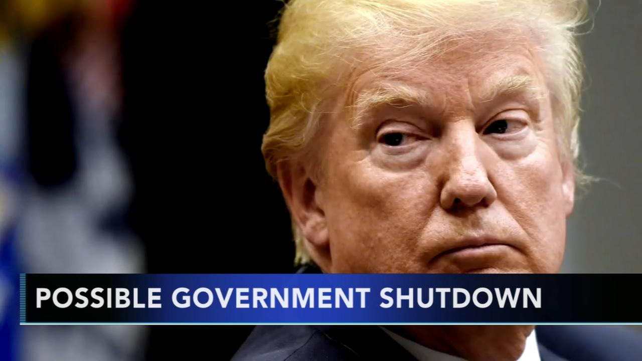 Possible government shutdown looming by end of week