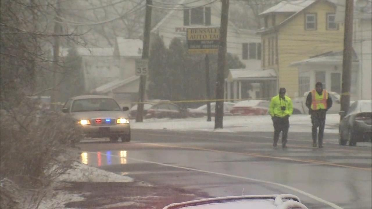 Woman struck and killed in Bensalem