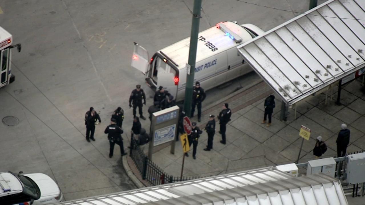 2 teens arrested after SEPTA station brawl