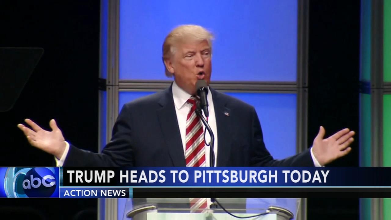 Trump heading to Pa.