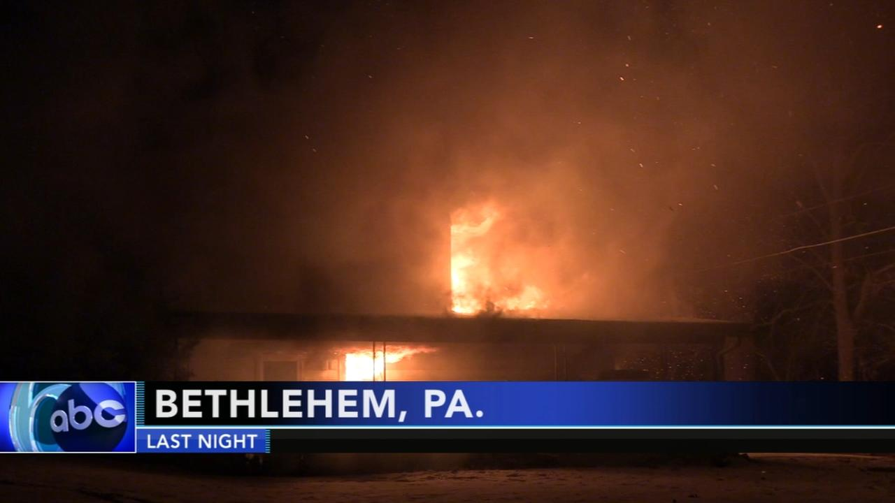 1 person dead in house fire in Bethlehem