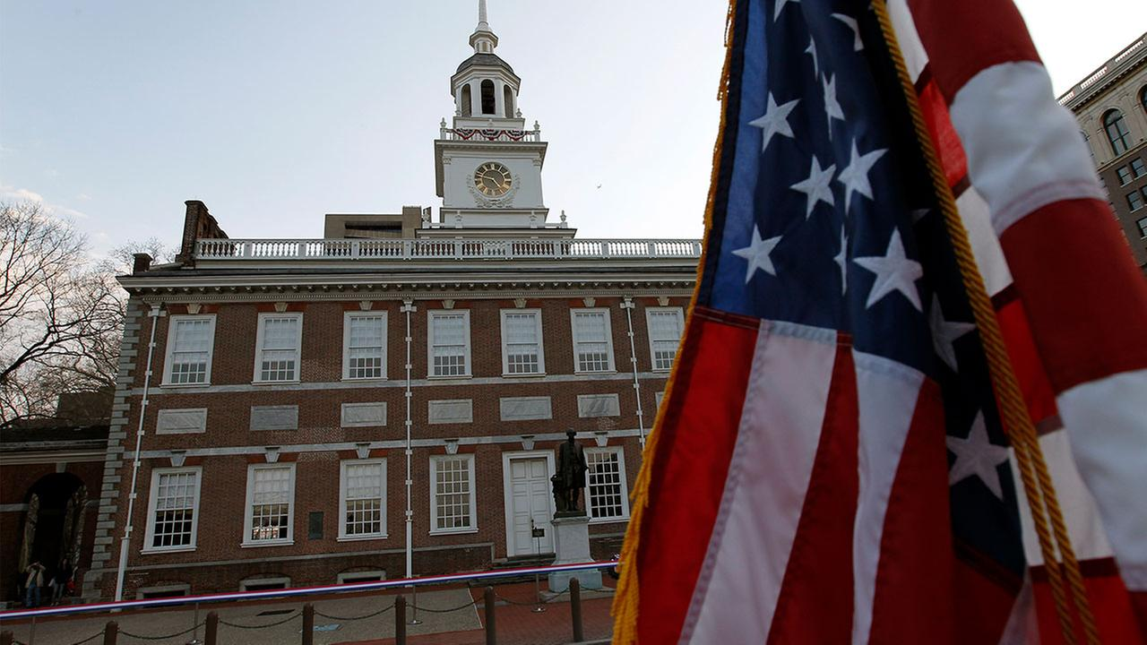 The federal government shutdown has shuttered the Philadelphia sites where the Declaration of Independence and Constitution were signed and the Liberty Bell hangs.