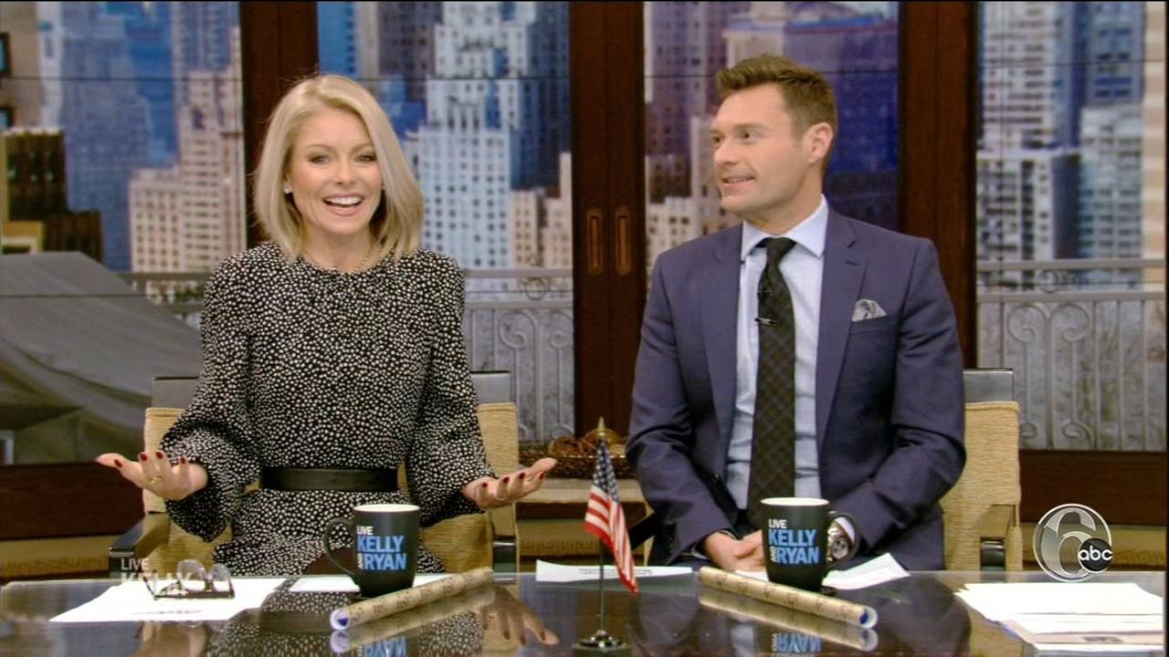 Kelly Ripa cant believe Eagles are in Super Bowl