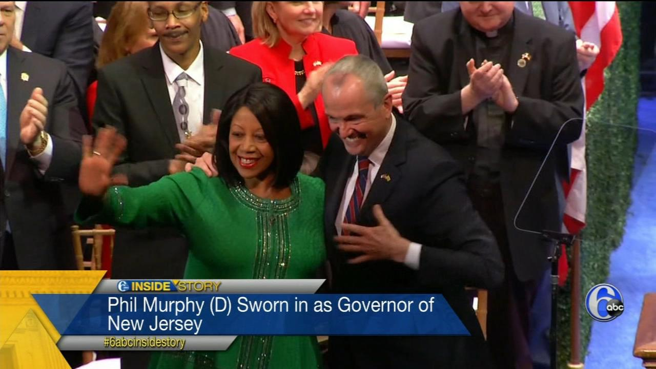 Inside Story Pt. 1: Phil Murphy sworn in as N.J. Govenor, Amazon HQ in Philly and opiod epidemic
