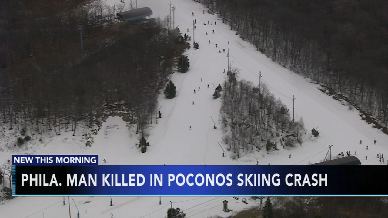 Phila. man killed in Poconos skiing crash