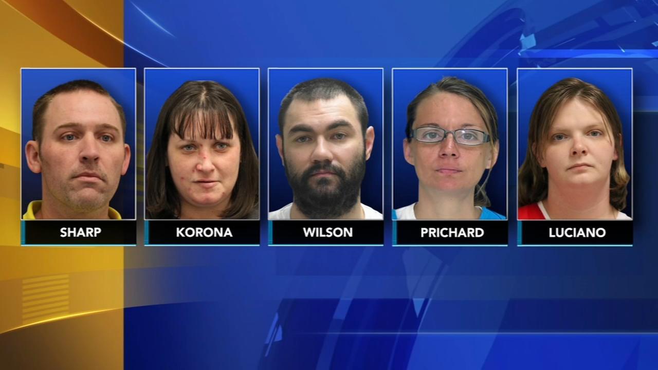 5 arrested after meth lab discovered in Delaware