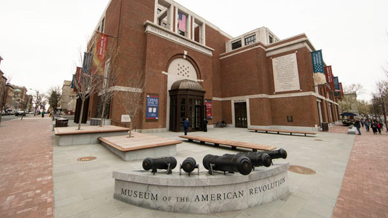 This Thursday, April 13, 2017, photo shows the Museum of the American Revolution in Philadelphia.