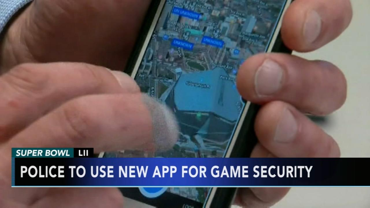 App developed to help police with security at Super Bowl LII