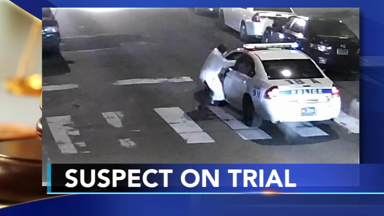 Trial begins for man accused of shooting Philly cop