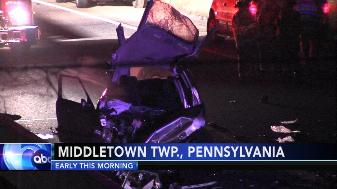 2 injured after SUV, multi-vehicle collision on Route 1