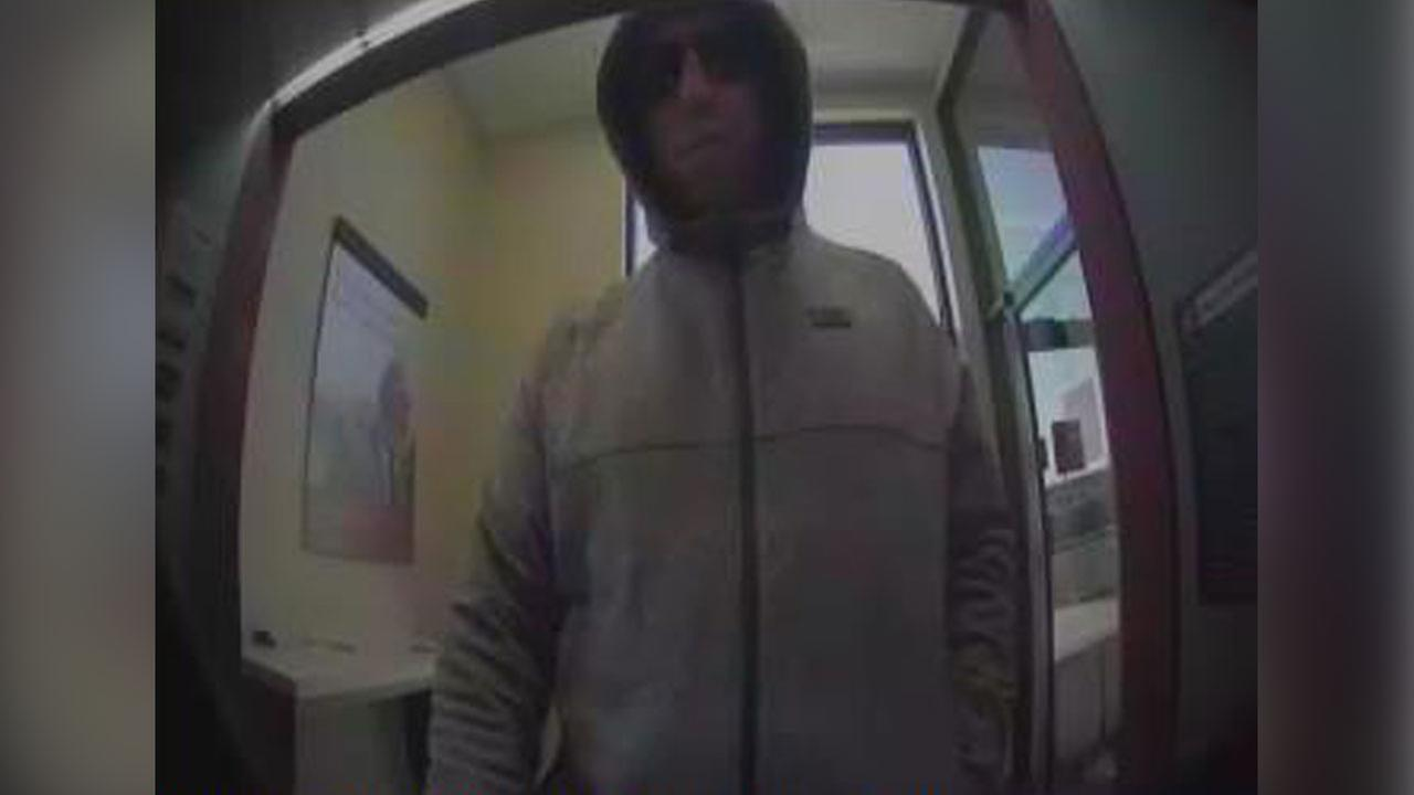 Police are investigating an attempted bank robbery at a Wells Fargo in Stafford Township.