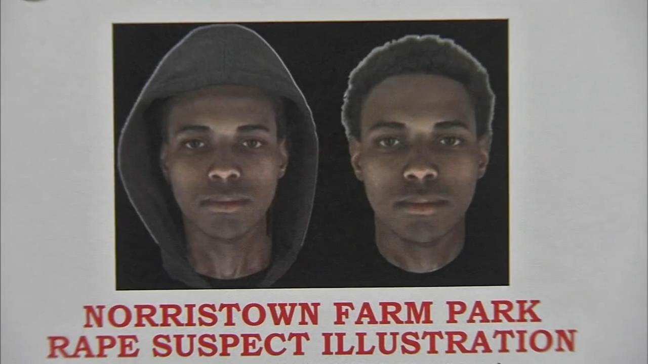 Search for suspect in Norristown Farm Park rape