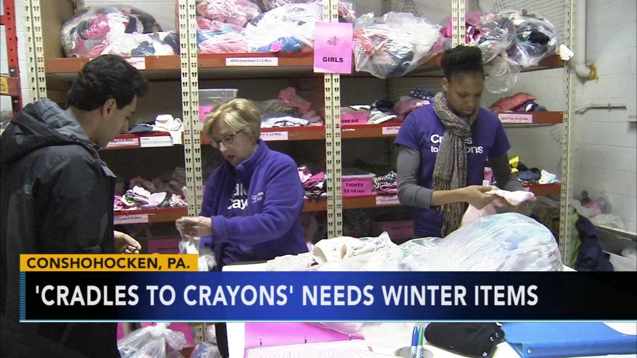 Cradles to Crayons helping kids stay warm during cold winter months