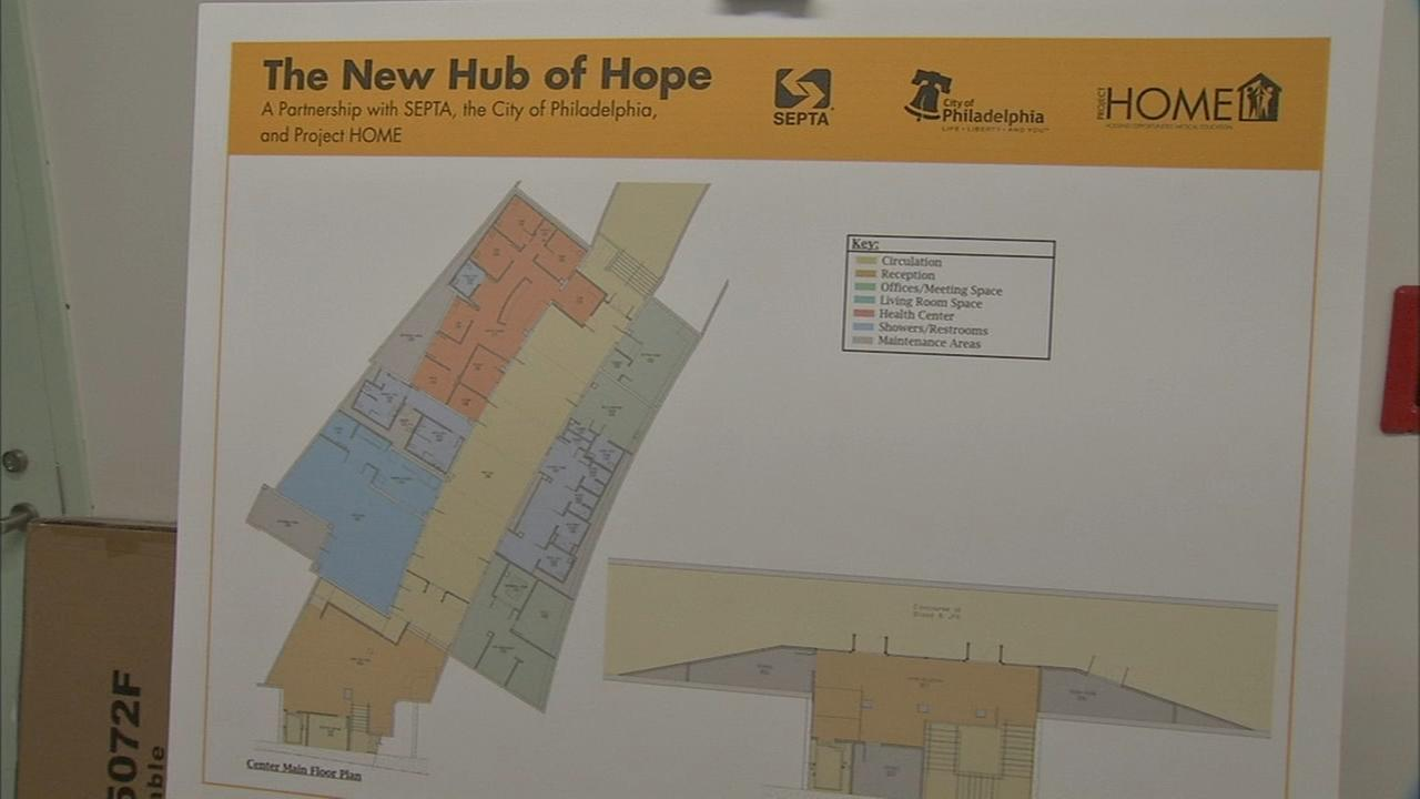 City unveils new Hub of Hope for homeless