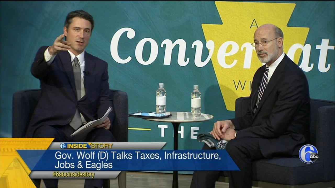 Inside Story Pt. 2: An exclusive interview with Gov. Wolf