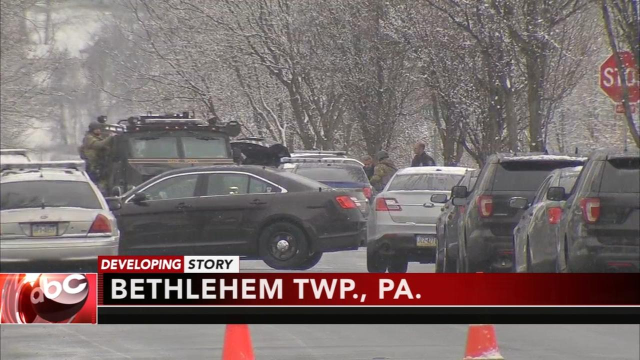 Suspect in custody after hours-long standoff in Bethlehem Twp.