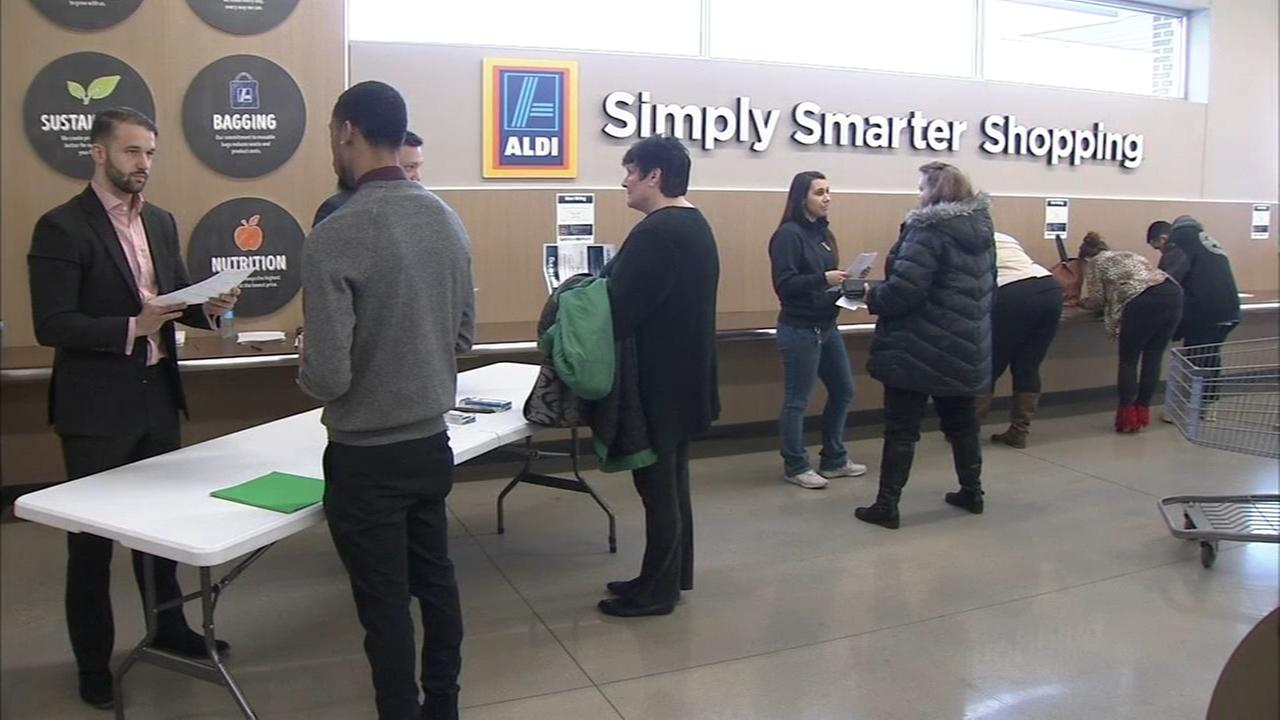 Aldi store job fair in Middletown Del.