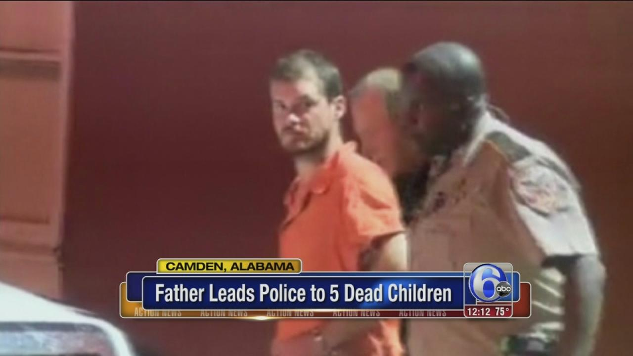 VIDEO: Father charged in deaths of 5 kids