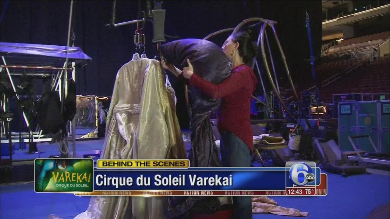 VIDEO: Cirque de Soleil returns to Philly!