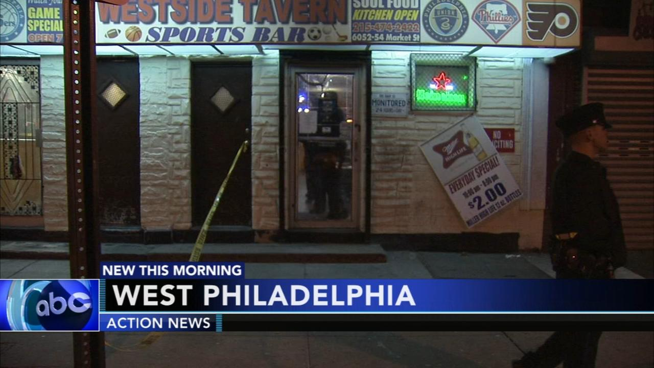 Shooting at West Philadelphia bar