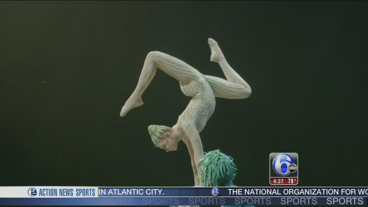 VIDEO: Sneak peak of Cirque du Soleil?s ?Varekai?