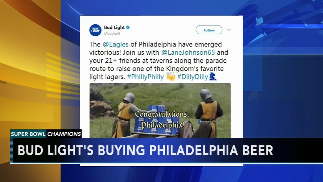 Bud Light spills details on free beer promise
