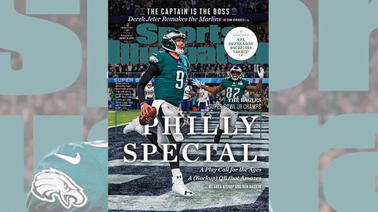 Philly Special: Super Bowl MVP Nick Foles graces Sports Illustrated cover