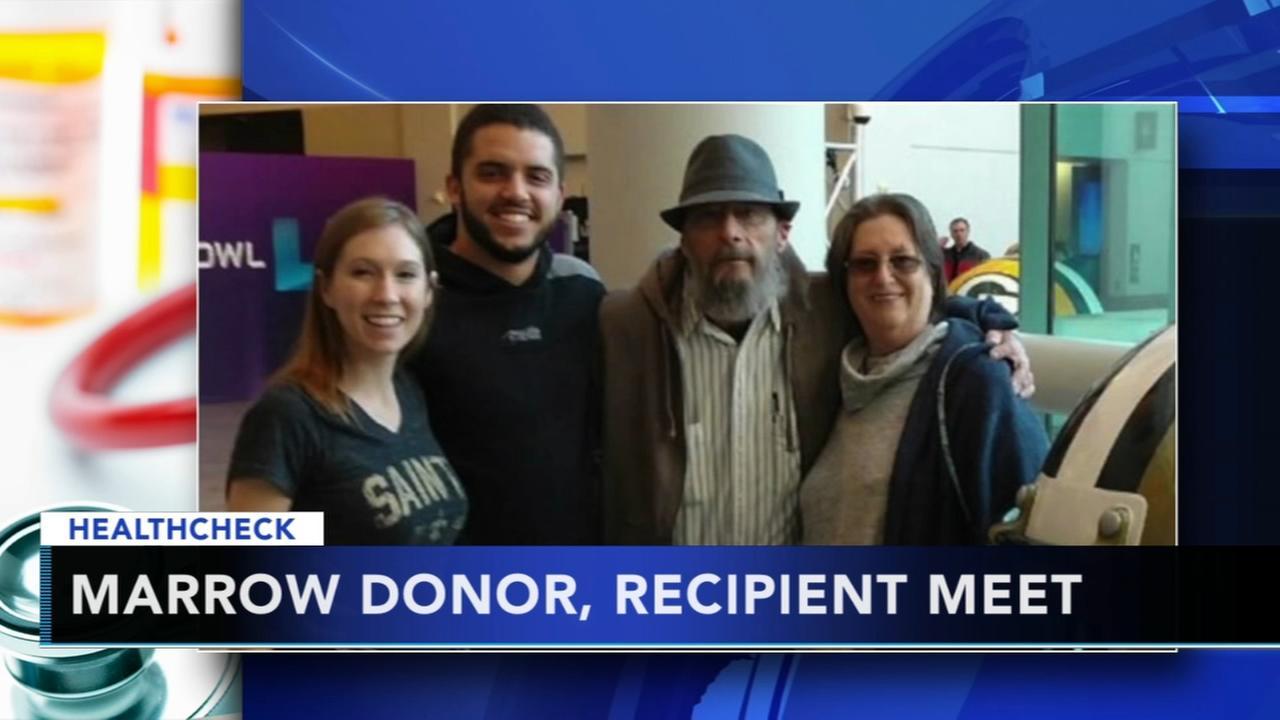 Super Meeting: bone marrow donor, recipient meet in Minneapolis