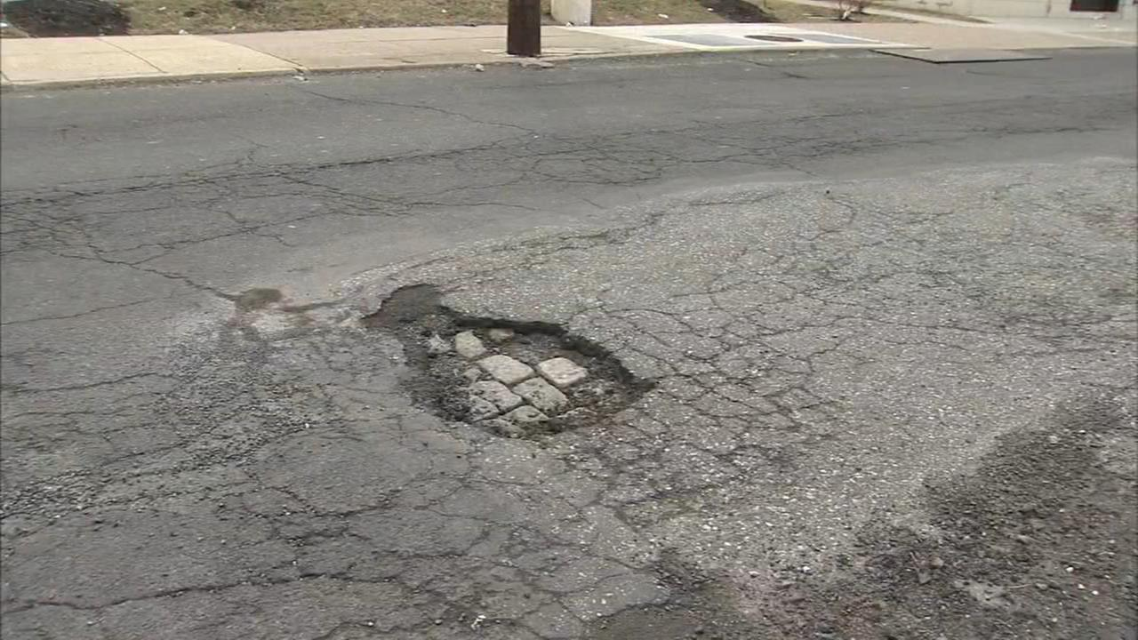 Potholes popping up, plaguing drivers across the area