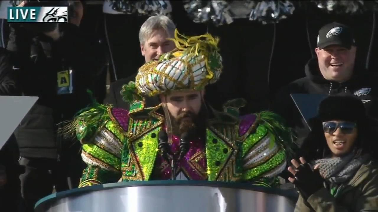 Jason Kelce remains the talk of the town