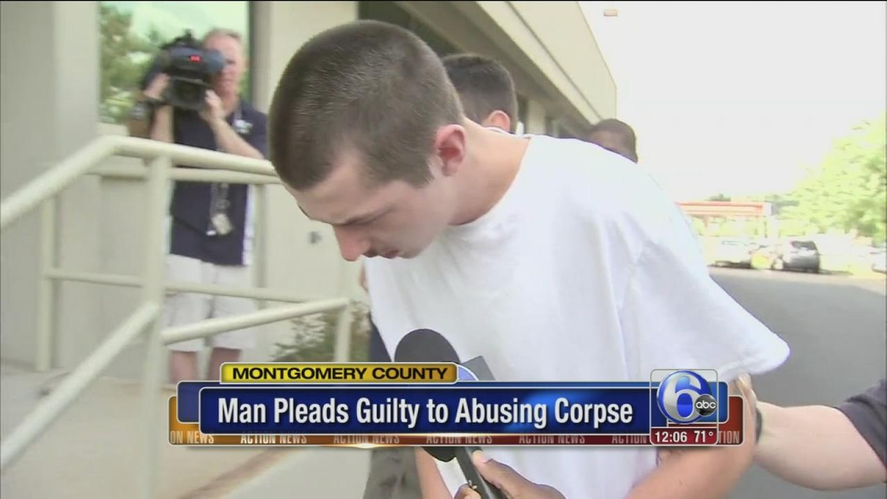 VIDEO: Guilty plea in abuse of corpse