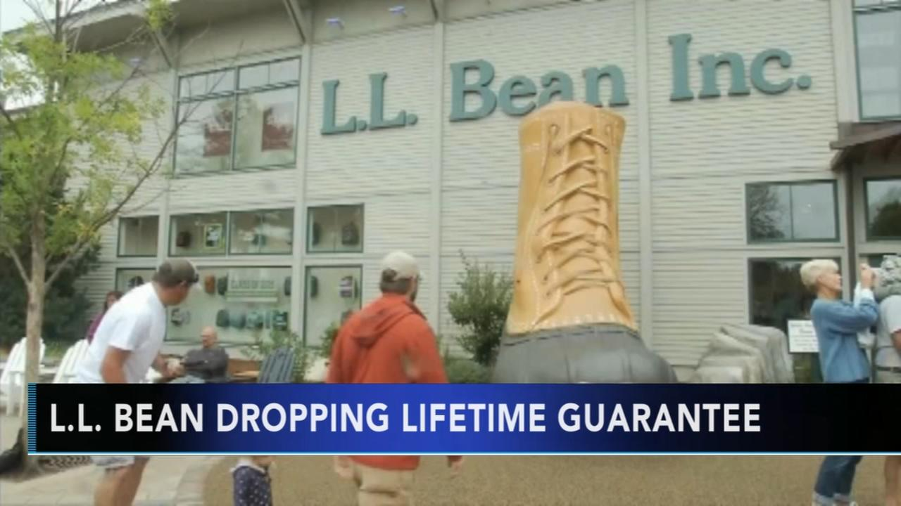 L.L. Bean nixes legendary lifetime return policy
