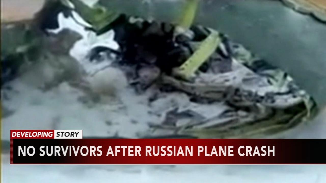 Airliner crashes near Moscow after takeoff