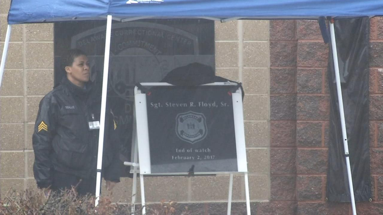 Ceremony honors Lt. Floyd year after prison riot