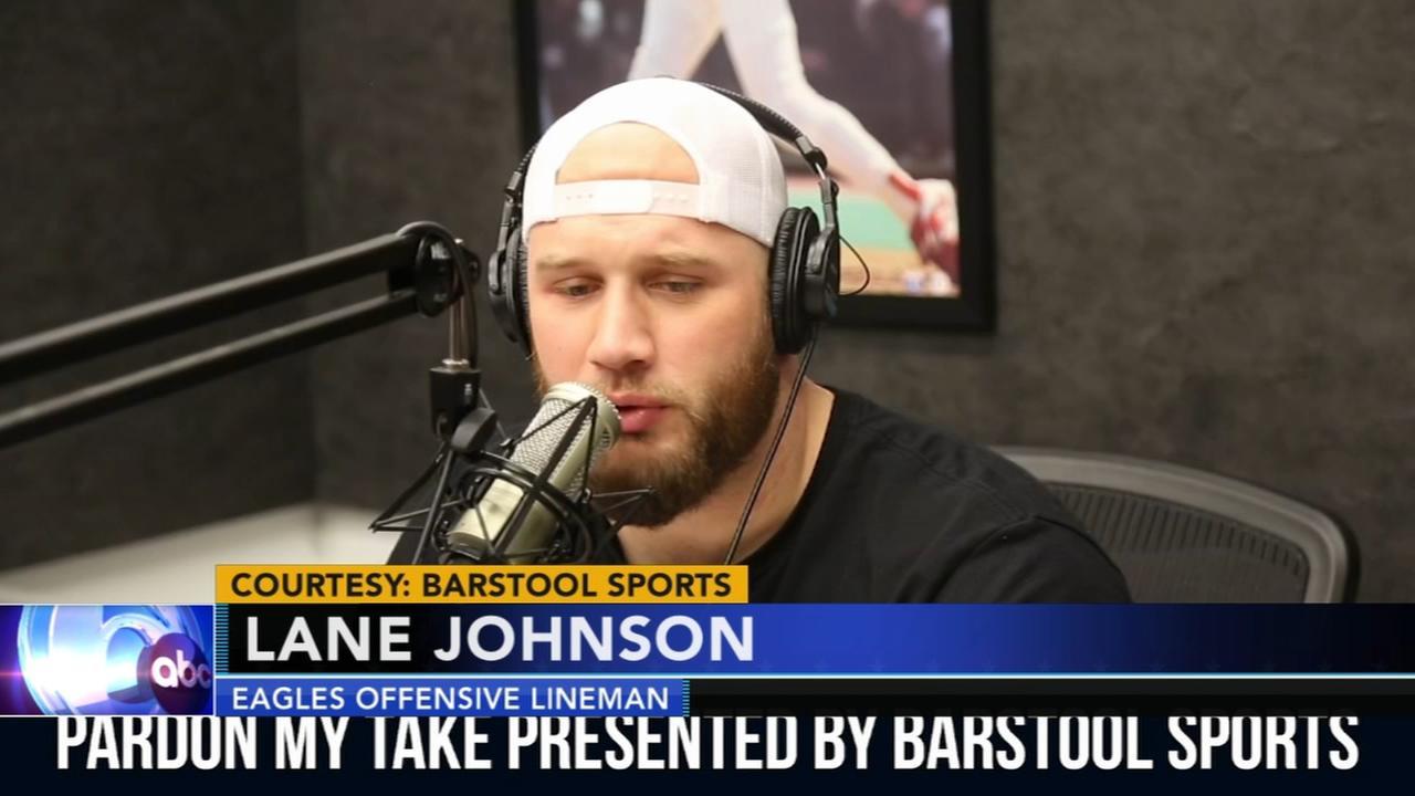 Lane Johnson critiques Patriot Way