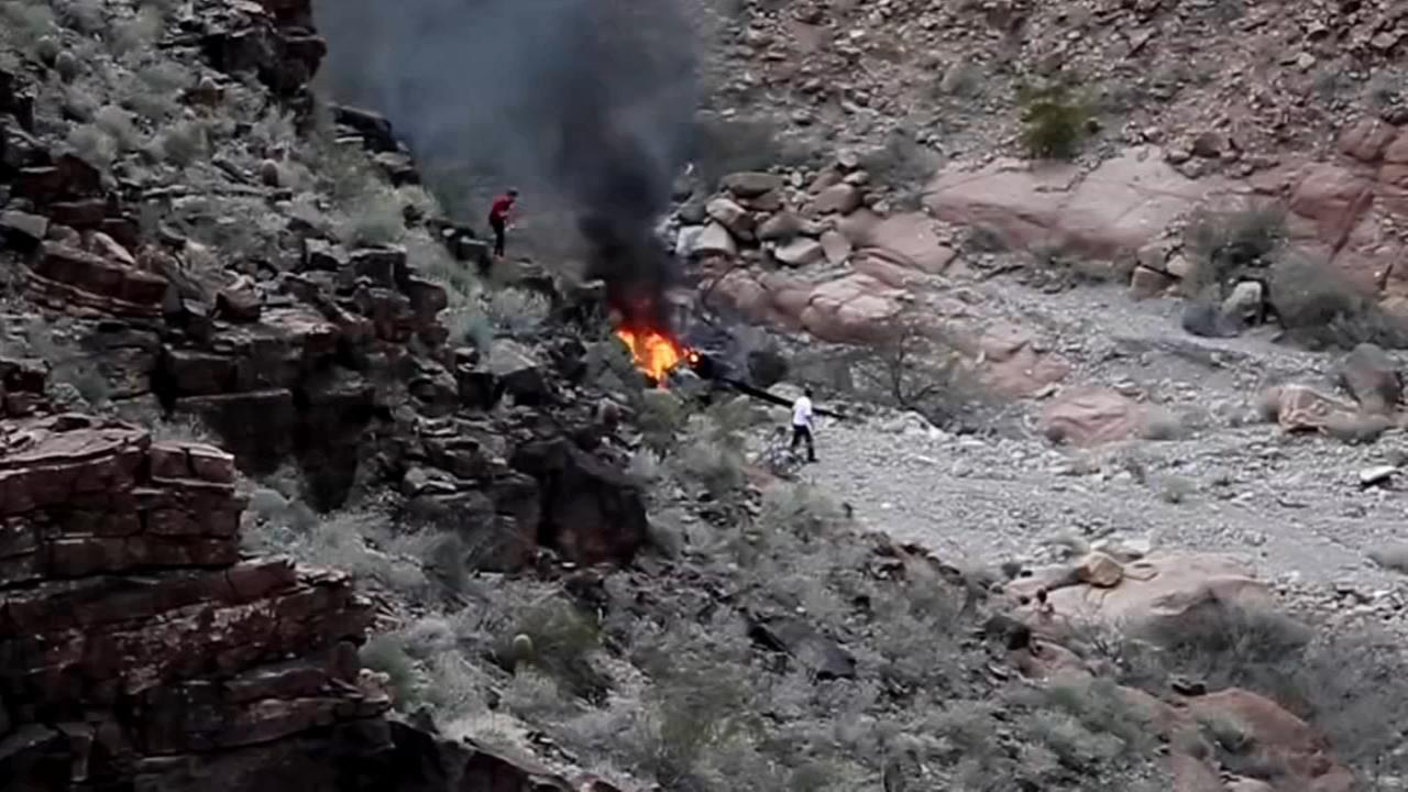 Family IDs British tourists killed in Grand Canyon crash