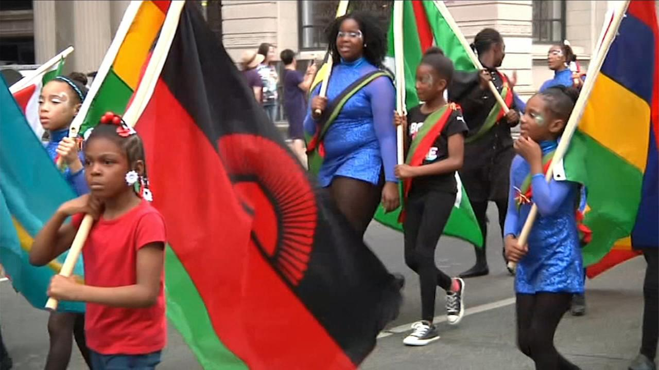 Visions 2018: Juneteenth Parade